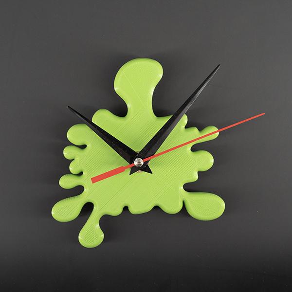 Orologio splash verde