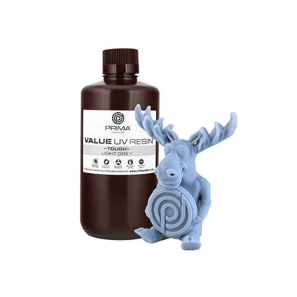 Resina Value Tough UV (ABS like) - Grigio Chiaro - 1000ml