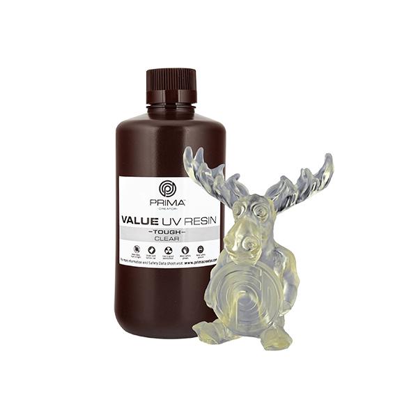 Resina Value Tough UV (ABS like) - Trasparente - 1000ml