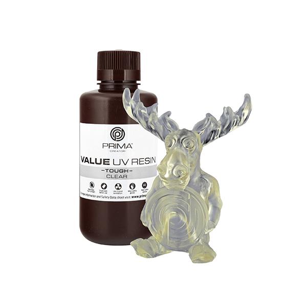 Resina Value Tough UV (ABS like) - Trasparente - 500ml
