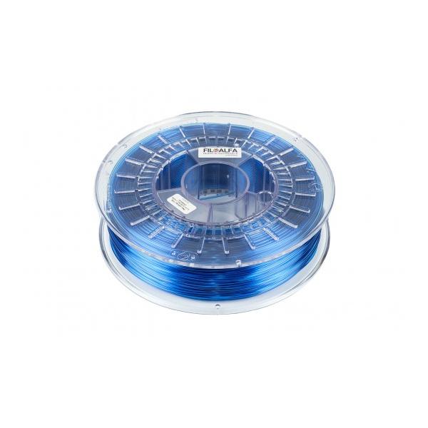 PETG - Blu Trasparente - 700g - 1.75mm