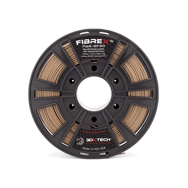 Nylon + GF30 - Marrone - 750g - 1,75mm