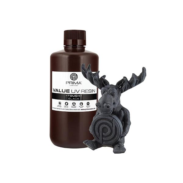 Resina Value Tough UV (ABS like) - Nero - 1000ml