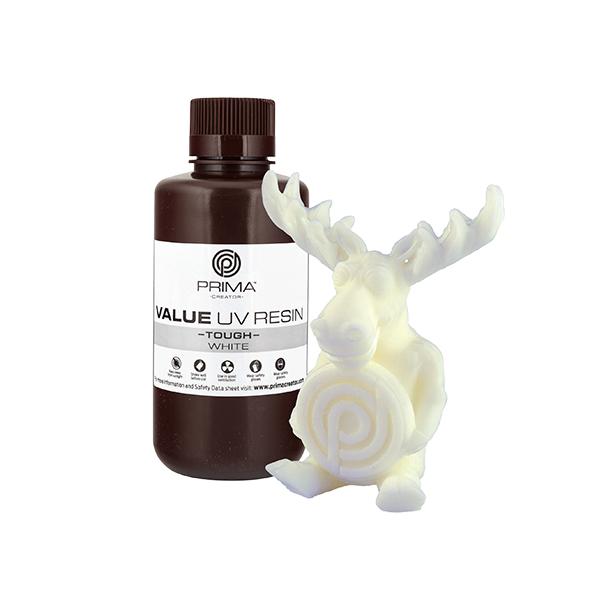 Resina Value Tough UV (ABS like) - Bianco - 500ml